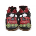 black-train-shoes