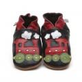 black-train-shoes